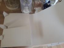 Biały kartonik